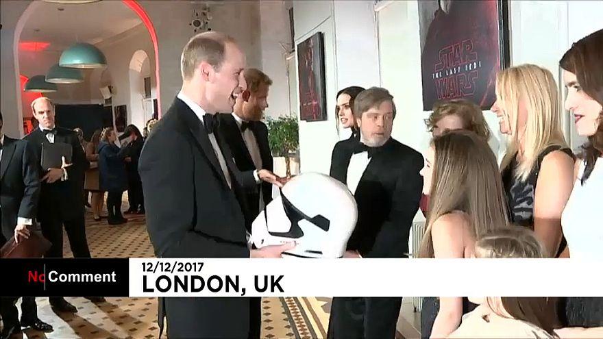 A brit királyi család is megnézte a Star Wars új epizódját