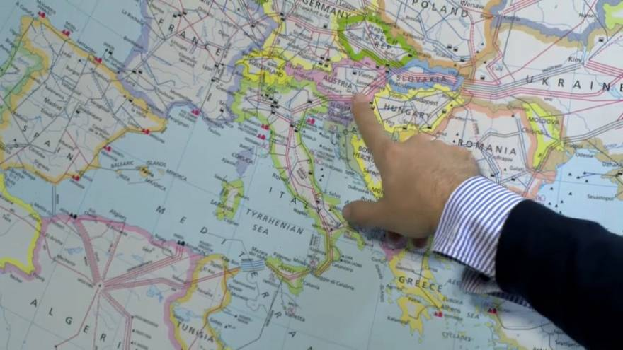 """Gás: Itália pode """"aguentar cerca de uma semana"""""""