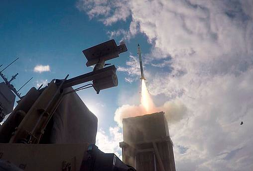 اسرائیل اعلام کرد دو موشک فلسطینی را در خاک خود رهگیری کرده است