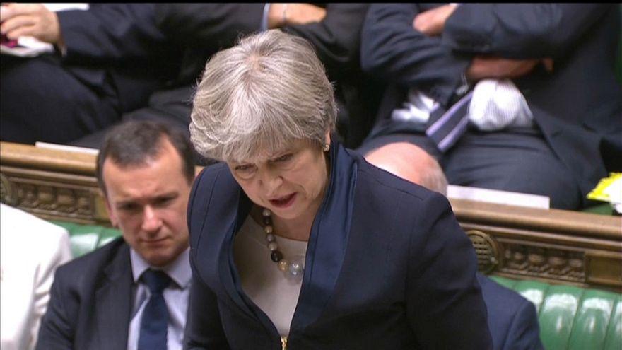 May pierde un voto crucial para el Brexit