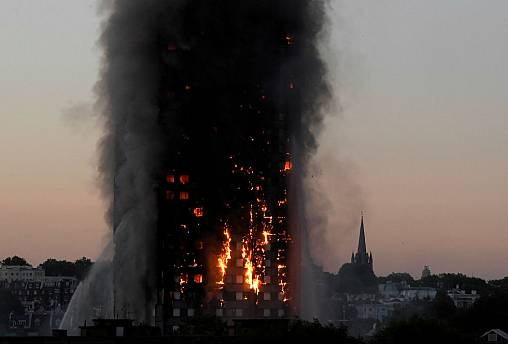 Ban flammable materials from Europe's high-rises to prevent another Grenfell, say experts