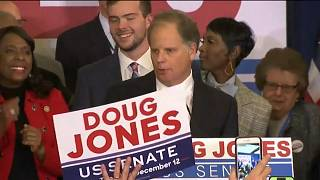 Democrat  Doug Jones spoils Trump's day and takes Alabama