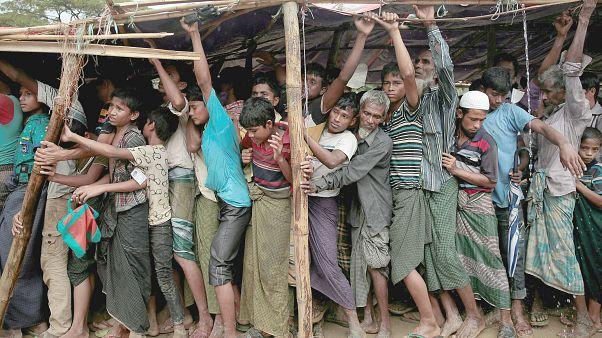 أكثر من 6700 قتيل من مسلمي الروهينغا في ميانمار في شهر واحد