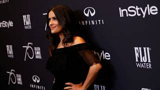 Salma Hayek is szexuális zaklatással vádolja Harvey Weinsteint
