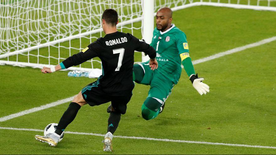 Ronaldo não conseguiu marcar a Ali Khaseif, mas marcou a Al Senaani