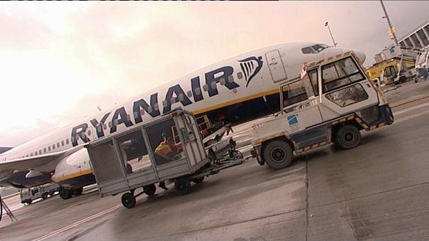 Greve de pilotos da Ryanair em Itália