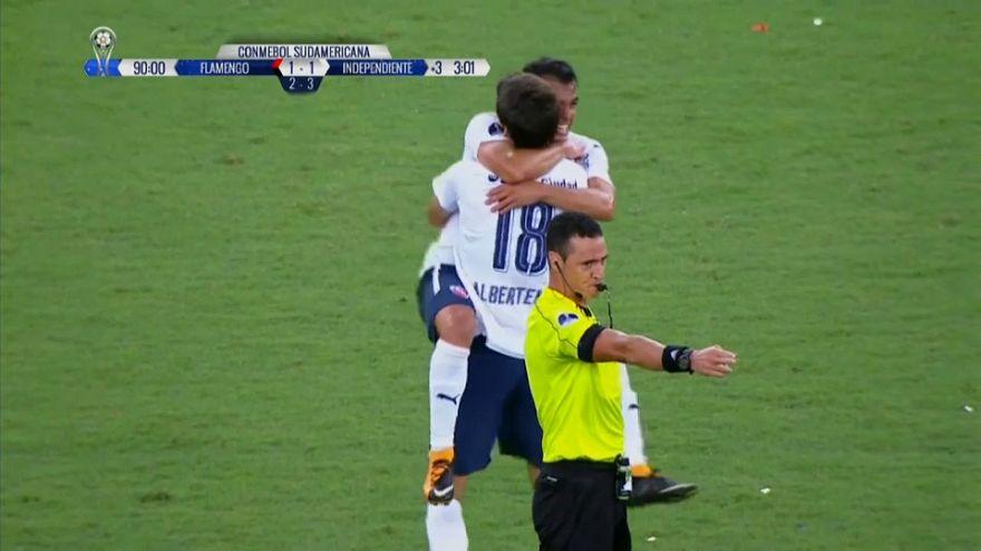 Independiente enmudece Maracaná al ganar la Copa Sudamericana