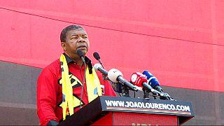 (Arquivo) Presidente de Angola, João Lourenço, na campanha eleitoral