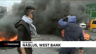 Столкновения в Наблусе