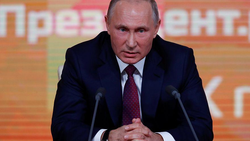 """Putins Jahrespressekonferenz: US-Wahlkampf-Einmischung ist """"erfunden"""""""