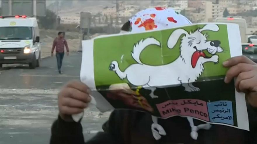 Clashes on streets of Nablus