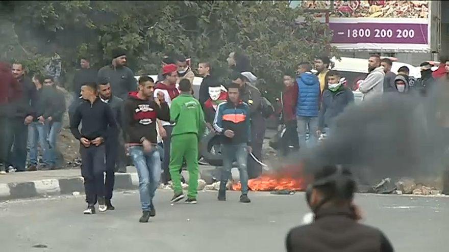 Unruhen im Westjordanland
