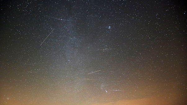 Káprázatos videó a meteorrajról