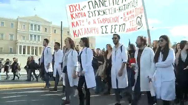 Újabb tüntetéshullám Görögországban