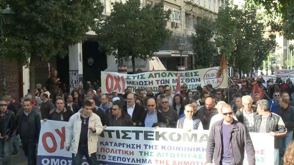 Strike brings Greece to standstill