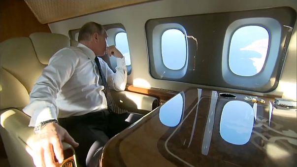 A bordo dell'aereo dell'Apocalisse di Putin