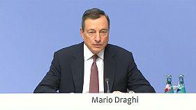 European Central Bank keeps stimulus measures on track despite big growth upgrade