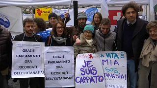 Gesetz in Richtung Sterbehilfe in Italien