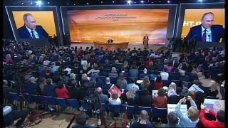 Vladimir Putin sem receio da concorrência nas eleições russas