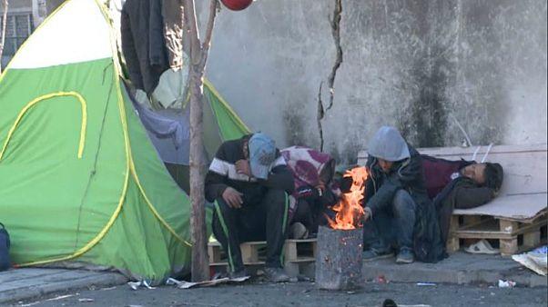معضل کارتن خوابی و اعتیاد در کلان شهر تهران از زاویه دوربین یورونیوز
