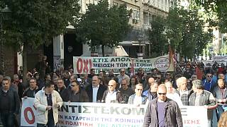 Greve nacional na Grécia