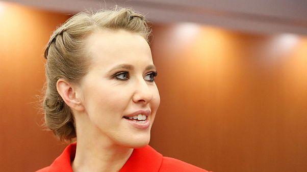 Russia's 'Paris Hilton' ready to take on President Vladimir Putin