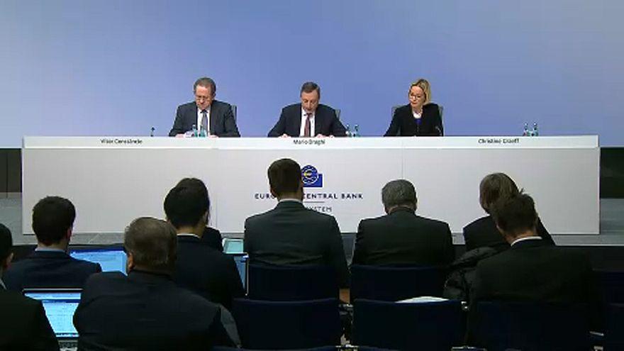 Nem módosított az irányadó kamaton az EKB