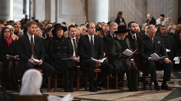 Anche i reali alla cerimonia in memoria delle vittime della Grenfell Tower