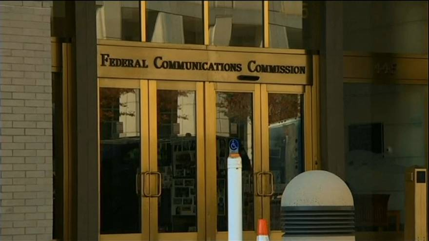The Federal Communications Commission building in Washington, DC