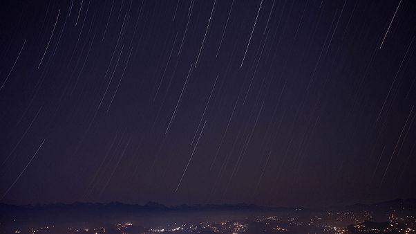 شهابباران در آسمان چین