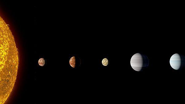 NASA: Ανακάλυψαν το πρώτο άστρο με οκτώ εξωπλανήτες