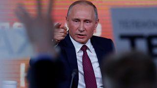 O Ρώσος Πρόεδρος στη μαραθώνια ετήσια συνέντευξη τύπου
