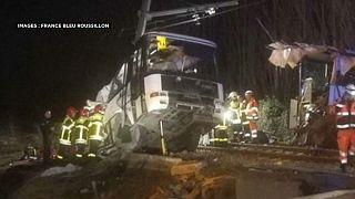 Количество жертв дорожной аварии во Франции возросло до шести человек