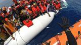 Τουρκία: Δραματική διάσωση μεταναστών στη θάλασσα
