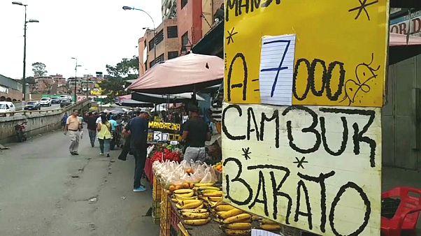 Mercado em Caracas, Venezuela