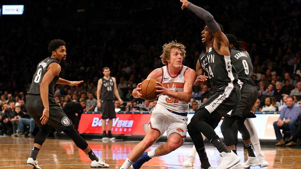 NBA'de New York derbisinin galibi Knicks