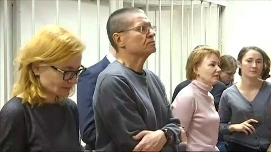 Alekszej Uljukajev az ítélethirdetés előtt