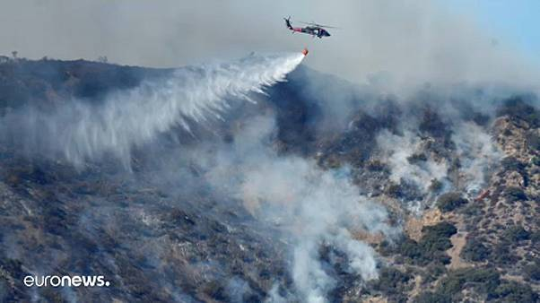 Küzdelem a lángokkal Kaliforniában