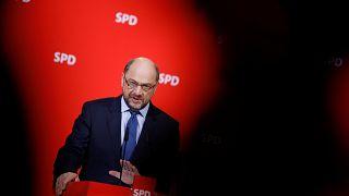 Martin Schulz an diesem Freitag in Berlin