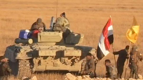نیروهای حشد الشعبی در کنار ارتش عراق در نبرد کرکوک شرکت داشتند