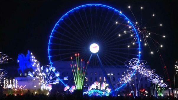 مهرجان الأضواء في مدينة ليون الفرنسية