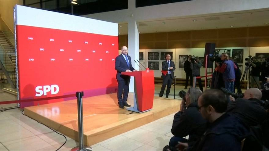 El SPD inicia las negociaciones con Merkel