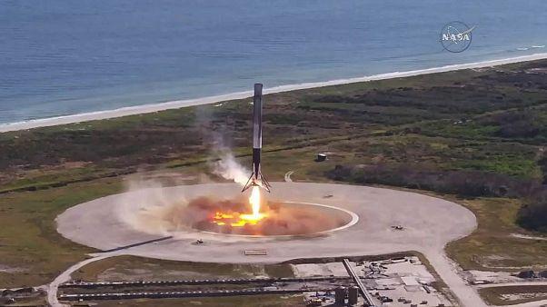 SpaceX uzaya geri dönüştürülmüş roket fırlattı
