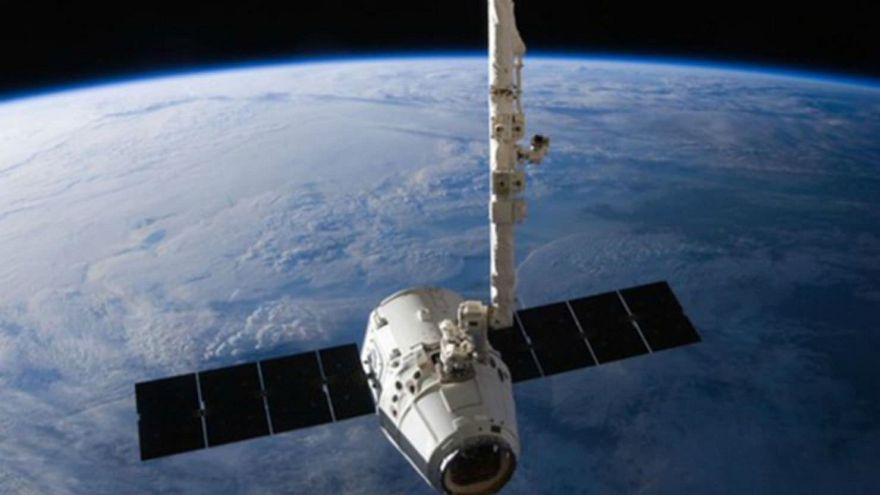 Lançamento da Space X Dragon