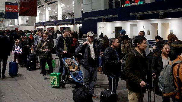 Aeroporto La Guardia, em Queens, Nova Iorque
