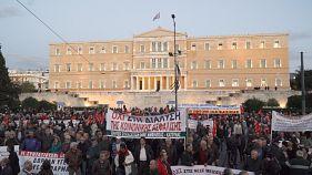 Μαζικό συλλαλητήριο συνταξιούχων από όλη την Ελλάδα