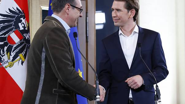 Austrian conservatives reach coalition deal with far right