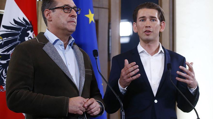 Extrema-direita austríaca no governo