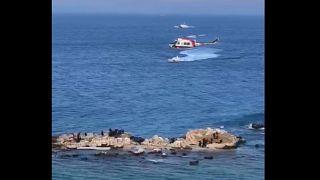 Турция: вертолет спас мигрантов