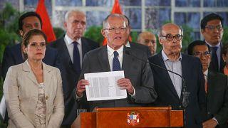 Peru Başkanı için soruşturma başlatılacak